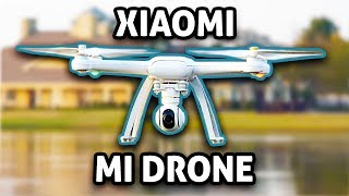 DJI KILLER?! - Xiaomi Mi Drone REVIEW (4K)