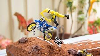 My Motorbike & Racing Birthday party! Ryan ToysReview #1 fan! Torys Toy Time!