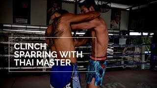 6 Clinch Sweeps & Clinch Sparring Thai Master