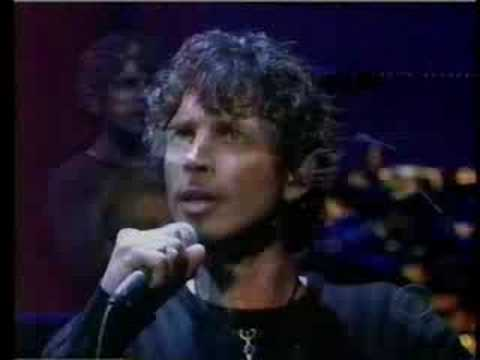 CHRIS CORNELL W/ ELEVEN DAVID LETTERMAN SHOW CAN'T CHANGE ME Video