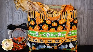 How to Make a Trick-or-Treat Tote | A Shabby Fabrics Sewing Tutorial