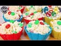 White Chocolate M&M Christmas Crackles - No Bake dessert
