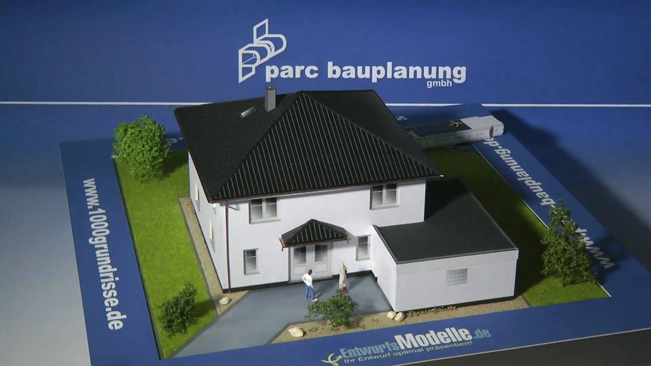 Kreativhaus stadtvilla mit eingangsvordach parc - Parc bauplanung ...