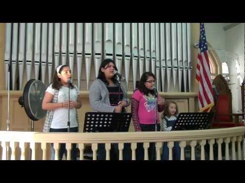 Jenifer Thamiris Melissa E Melanie Cantam Aguas Que Curam