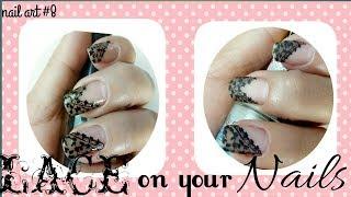 Nail art #8 Lace