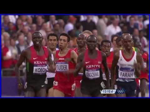 The best of  Mo Farah Wins Men's 5000m Gold - London 2012 Olympics HD