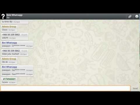 Kuiz Whatsapp Versi Melayu