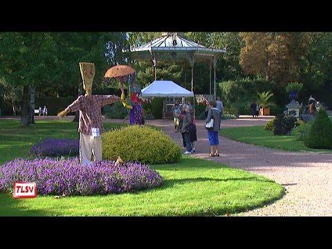 Luçon : des épouvantails au jardin Dumaine