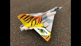 "Freewing Mirage 2000C V2 ""Tiger Meet"" 80mm EDF Jet MAIDEN FLIGHT"