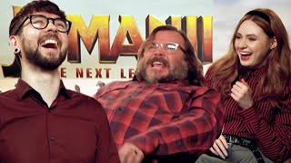 The Funniest Interview I've Done So Far (Jack Black & Karen Gillan)