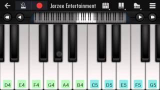 Main woh Chaand (Teraa Surroor), Darshan Raval - Mobile perfect piano tutorial