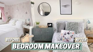 FULL BEDROOM MAKEOVER ✨ before + after