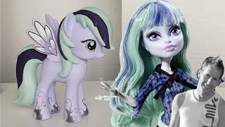 Twyla themed My Little Pony Repaint  - Monster High Tutorial