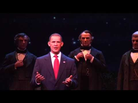Disney Hall of Presidents update with Obama animatronic