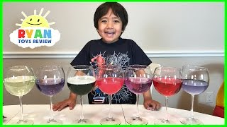 Science Experiments for kids to do at home! Red Cabbage pH Indicator Colors for Children Activities