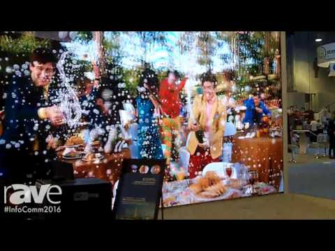 InfoComm 2016: CCDL (Central China Display Laboratories) Shows Haverford 3D System