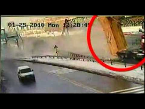 Crash Day: Truck vs. Bridge