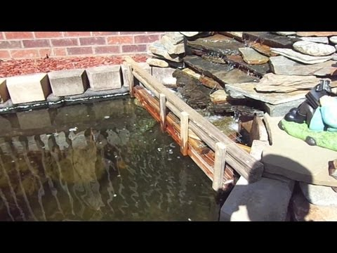 Diy koi pond filter with quilt batting how to save money for Do it yourself fish pond