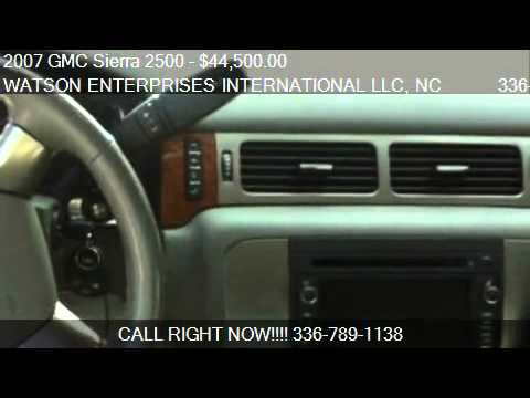 2007 GMC Sierra 2500  - for sale in MOUNT AIRY, NC 27030