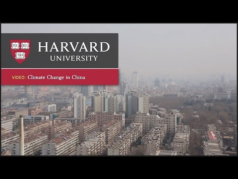 Harvard Climate Change Experts Focus on China