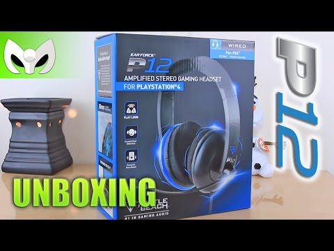 UNBOXING HEADSET P12 (PLAY STATION) (MARAT�N 10 Mil Subs)