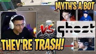 """Myth Squad Wiped Pro Team """"Ghost"""" in Squad Scrims! - Fortnite Best and Funny Moments"""