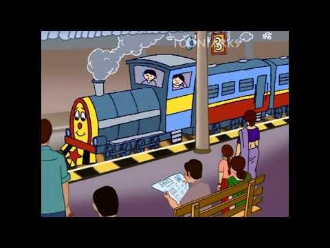 Chinnari Chitti Geethalu-01| Chuk Chuk Railu| By Tooniarks video