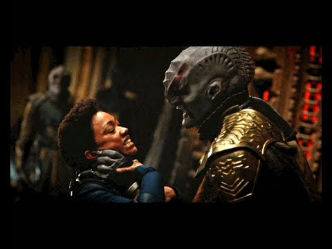 Star Trek Discovery | Michael Burnham Fights Klingon General Kol Full Battle Scene | Burnham vs Kol