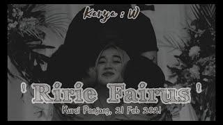 Download lagu RIRIE FAIRUS istri Ayus Sabyan (Korban Pelakor) - Puisi Sedih Bikin Nangis