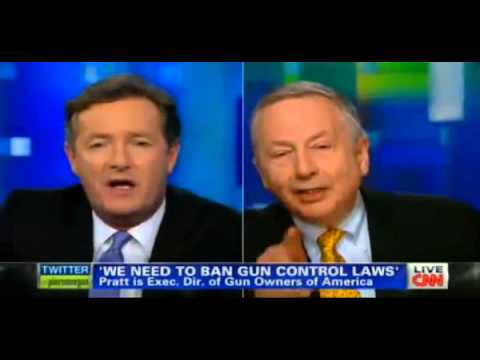 Larry Pratt DESTROYS CNN's Piers Morgan on CT Shooting