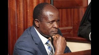 Obado to be detained at Gigiri Police Station