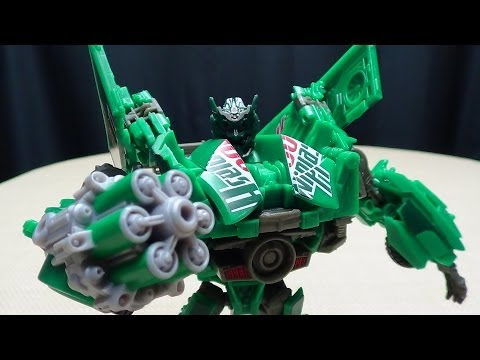 Takara Age Of Extinction lost Age Deluxe Dispensor: Emgo's Transformers Reviews N' Stuff video