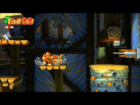 Donkey Kong Country: Tropical Freeze - 4-5 Sea Stack Attack (100%)