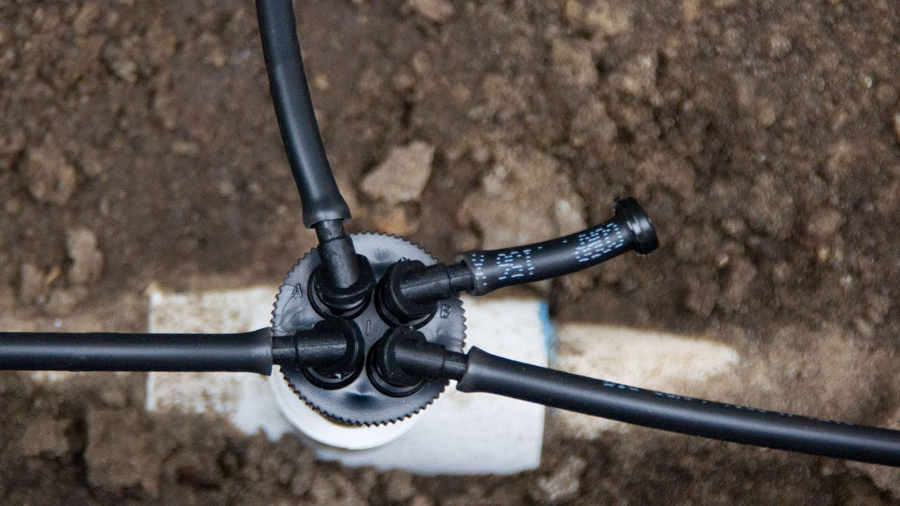 Convert Sprinklers To Drip Irrigation The Manifold