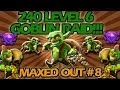 240 Max Level 6 Goblin Raid! Clash of Clans Maxed Out #8