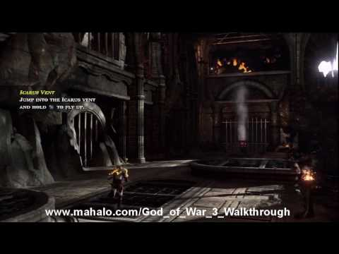 God of War III Walkthrough - Acquiring Apollo's Bow Part 2 HD