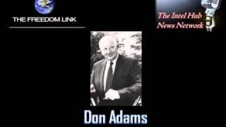 JFK and the Testimony of Retired FBI Field Agent Don Adams on Freedomlink Radio