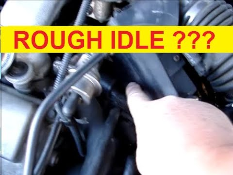 How does a car engine idle rough 19