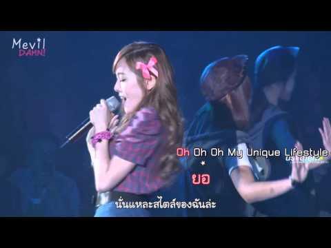 [Karaoke] My Lifestyle - Jessica (SNSD) [Thai sub]