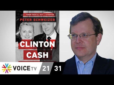 'Clinton Cash' เขียนโดย Schweizer เพื่อทำลายภาพพจน์ Hillary
