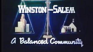 Winston-Salem, NC - A Balanced Community (1942 Video, 22 min. ) Produced by Mayor R.J. Reynolds, Jr.