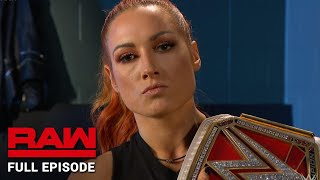 WWE Raw Full Episode, 19 August 2019