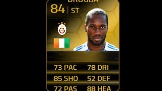 FIFA 14 IF DROGBA 84 Player Review & In Game Stats Ultimate Team