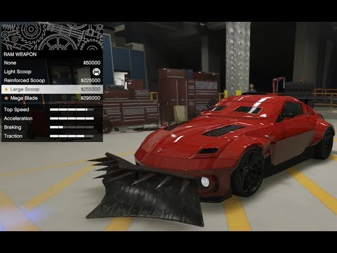 GTA 5 - Arena War DLC Vehicle Customization - Annis Apocalypse ZR380 and Review