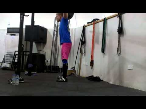 Over Head Squat - Road To Body Weight (215) X 15 video