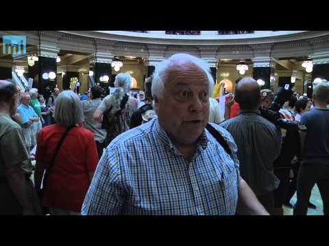 Sen. Bob Jauch Calls the Capitol Tiananmen Square...Again