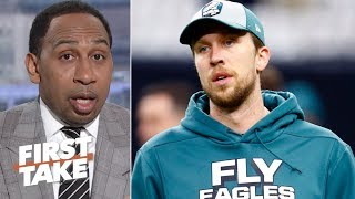 Redskins should have signed Nick Foles, Alex Smith's career is in jeopardy - Stephen A. | First Take