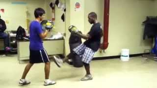 Savate Kicks Vs Muay Thai Kicks SONS of the JKD SCIENTIFIC FIGHTING METHOD Foot Vs Shin