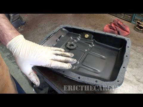 Changing Automatic Transmission Fluid and Filter, 1997 Subaru Legacy (Part 2) - EricTheCarGuy