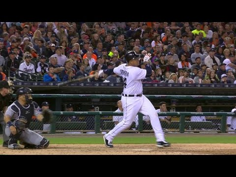 Cabrera belts his second homer of the game